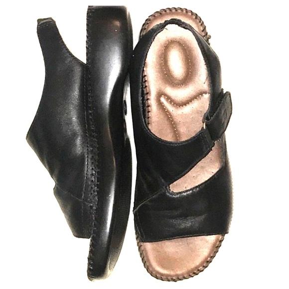 4b7ba1946d82 Dr. Scholl s Shoes - Dr Scholl s Nina Black Sandal Wide